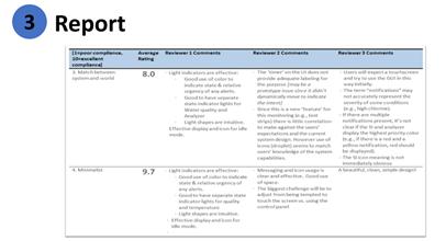 Step 3 - Report